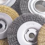 Escova de nylon abrasiva